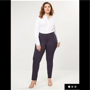 Curvy Allie stretch ankle pants
